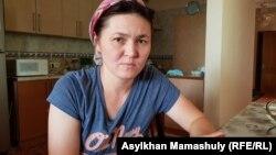 Жительница Алматы Жансая Жанабаева, многодетная мать. 2 августа 2019 года.