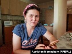 Алматы тұрғыны, үш баланың анасы Жансая Жаңабаева. 2 тамыз 2019 жыл.