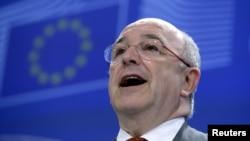 Хоакін Альмунія оголошує про новий штраф на Microsoft у ЄС, 6 березня 2013 року