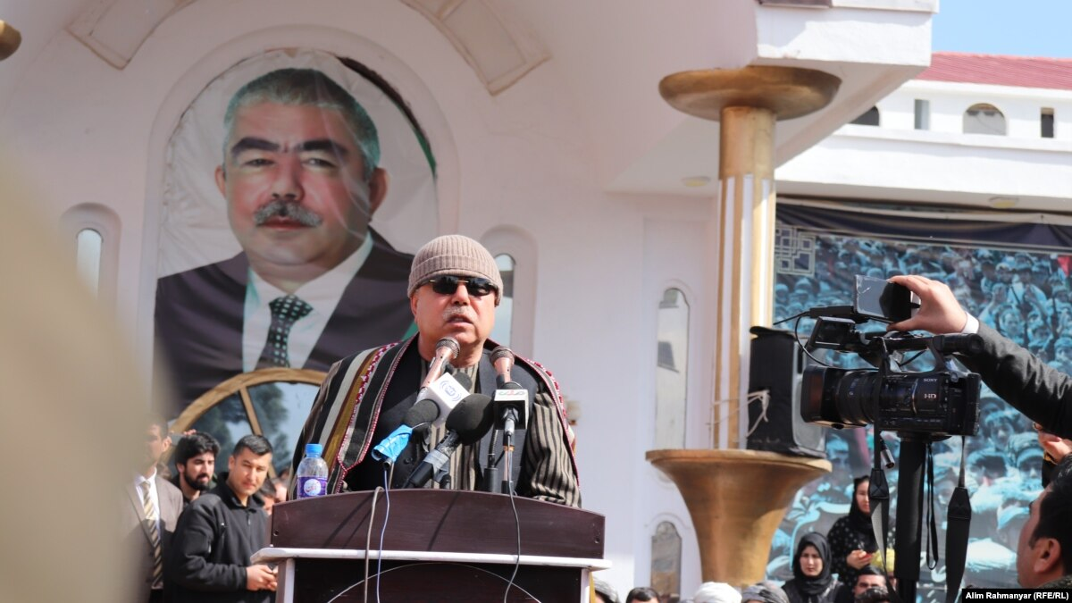 Afghan Vice President Tells Supporters To Protest Ghani's Reelection