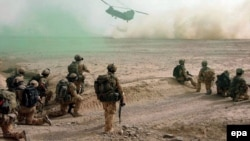 Əfqanıstan, Britaniya hərbi qüvvəsi