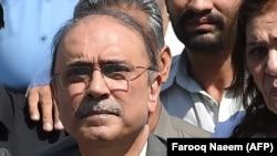 Asif Ali Zardari (file photo)