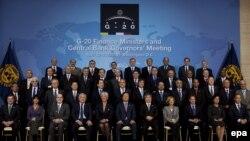Министри и Гувернери на Централни Банки на Г 20 на средбата во Вашингтон 23.04.2010