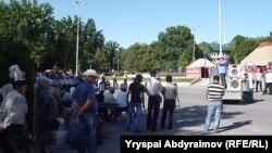 Митинг в Джалал-Абаде, 31 мая