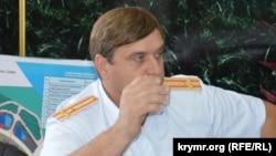 Атаман «Крымского казачества» Сергей Акимов