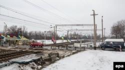 Активісти блокують залізничні перевезенння на Донбасі, 2017 рік