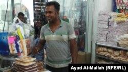 عامل آسيوي في بغداد
