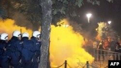 Neredi u Podgorici, 13. oktobra