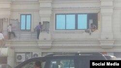 Bakıda bina