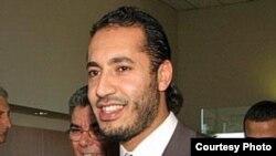 Саади, третий сын свергнутого ливийского лидера Муаммара Каддафи.
