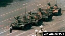 Sheshi Tiananmen, Qershor, 1989.