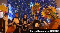 Вертеп у Донецьку, січень 2014 року
