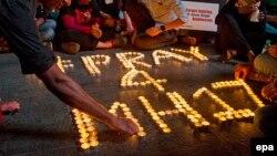 Траур в Малайзии по жертвам рейса MH17. 18 июля 2014 года
