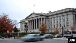 Здание Министерства США в Вашингтоне.