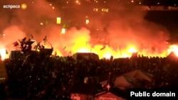 Майдан у вогні. Наступ силовиків в ніч із 18 на 19 лютого 2014 року