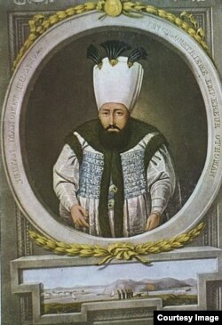 Турецкий султан Махмуд Первый
