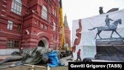 Снос памятника Георгию Жукову на Манежной площади