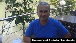 Журналист из Узбекистана Бобомурод Абдуллаев.