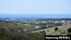 Вид на балку Бермана в Севастополе