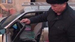 Dog's Head Left In Kazakh Activist's Car