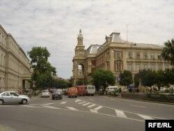 Bakı şəhər İcra Hakimiyyəti. Memar: Jozef Goslawski