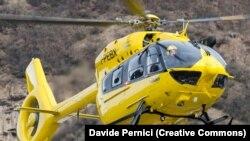 Вертолет Eurocopter EC145 (сейчас - Airbus Helicopters H145). Иллюстративное фото.