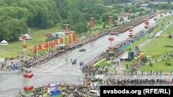 Вайсковы парад у Менску, 3 ліпеня