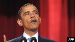 Barak Obama tokom govora na kairskom Univerzitetu