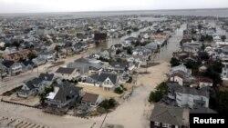 شهرکهای ساحلی آسیبدیده در ایالت نیوجرسی.