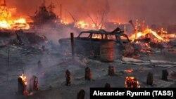 В Рязанской области из-за лесных пожаров в 2010 году сгорели четыре деревни