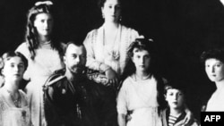 Russian Tsar Nicholas II and his family
