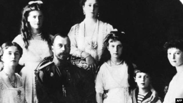 Russian Tsar Nicholas II and his family in one of the last pictures taken before the 1917 revolution.