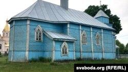 Старажытная царква ў Моладаве