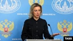 ՌԴ արտգործնախարարության խոսնակ Մարիա Զախարովա