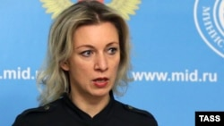 Пресс-секретарь министерства иностранных дел России Мария Захарова.