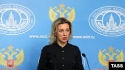 Orsýetiň Daşary işler ministrliginiň resmi wekili Mariýa Zaharowa
