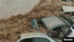 آرشیف، سرازیر شدن سیلابهای اخیر در ایران