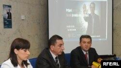 Sa konferencije za novinare Uprave policije, Foto: Savo Prelević