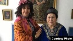 Тамара Катаева (слева) и Лайло Шарифи