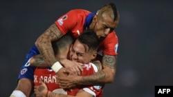 Cборная Чили выиграла Copa America в 2015 году