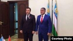 Акромхон Бобохонов жана Курсан Асанов