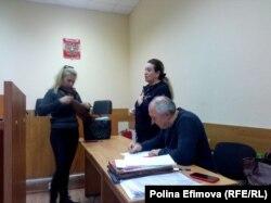 Заседание по избранию меры пресечения Татьяне Быковской