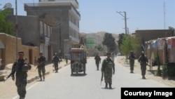 Forcat afgane në provincën Faryab