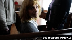 Ірына Халіп — падсудная ў справе Плошчы, травень 2011