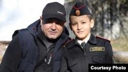 Бахтиёр Усмонов и его отец Рустам Усмонов