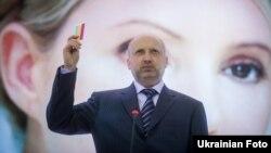 Перший заступник голови «Батьківщини» Олександр Турчинов, Київ, 30 березня 2012 року