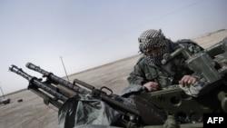 Участник ливийских вооружённых формирований.