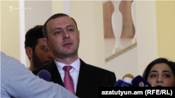 Секретарь Совета безопасности Армен Григорян, Ереван, 6 февраля 2020 г.