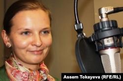 """Президент фонда """"Открытый диалог"""" Людмила Козловска. Прага, 26 августа 2013 года."""