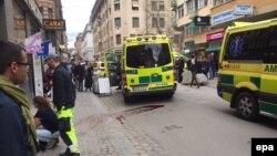 На місці інциденту у Стокгольмі 7 квітня